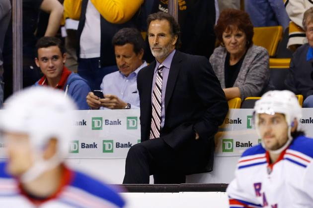 Reliving John Tortorella's Most Ridiculous Moments on Camera as NY Rangers Coach