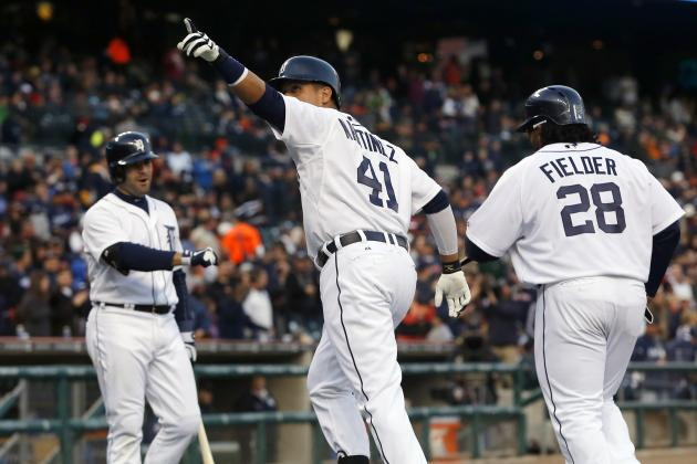 Detroit Tigers Grades for Every Starting Position Player in May