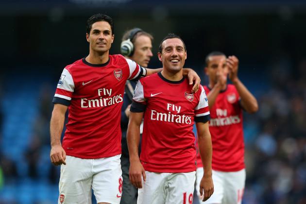 Rating Arsenal's Midfielders in the 2012/13 Season