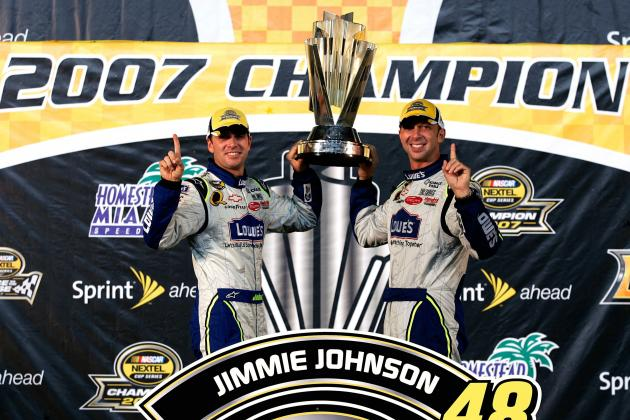 Ranking the 10 Most Dominant Seasons in Sprint Cup History