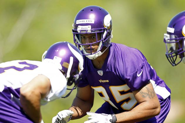 Pro Line Men's Minnesota Vikings Erin Henderson Team Color Jersey ...
