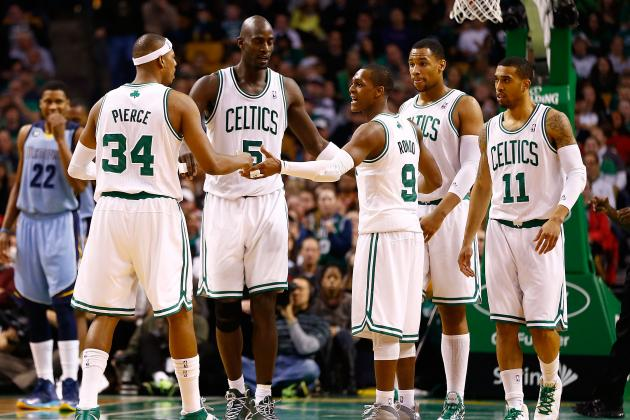 Final Grades for Every Boston Celtics Starter in 2012-13