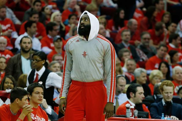 Final Grades for Every Houston Rockets Starter in 2012-13
