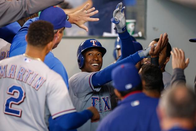The Texas Rangers' Top 10 Moments from the Month of May