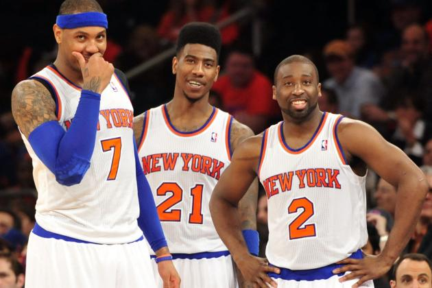 Final Grades for Every NY Knicks Starter in 2012-13