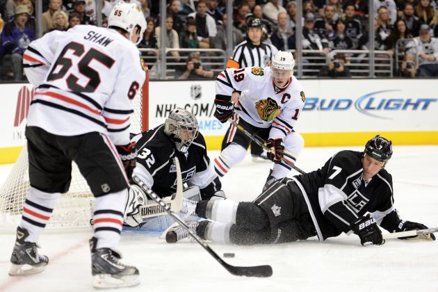 NHL Playoffs 2013: Los Angeles Kings vs. Chicago Blackhawks Schedule and Preview