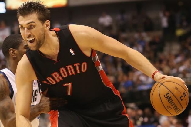 Top Trade Destinations Now That Toronto Raptors Shopping Andrea Bargnani