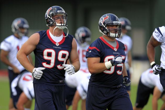 10 Things We Learned from Houston Texans' OTAs