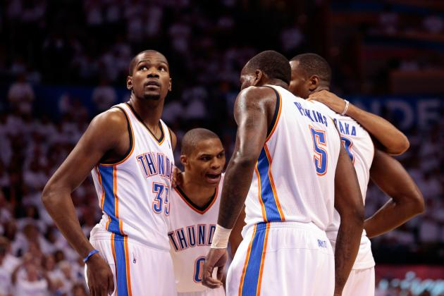 Final Grades for Every OKC Thunder Starter in 2012-13