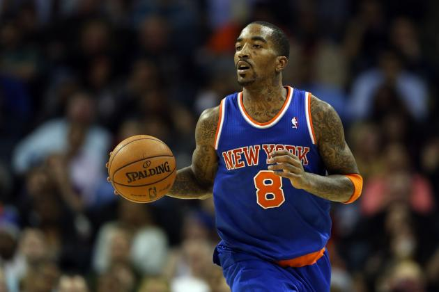 Pros and Cons of NY Knicks Re-Signing J.R. Smith During 2013 Offseason
