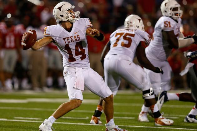 Texas Football: Why David Ash Is Set for a Huge Breakout Season in 2013