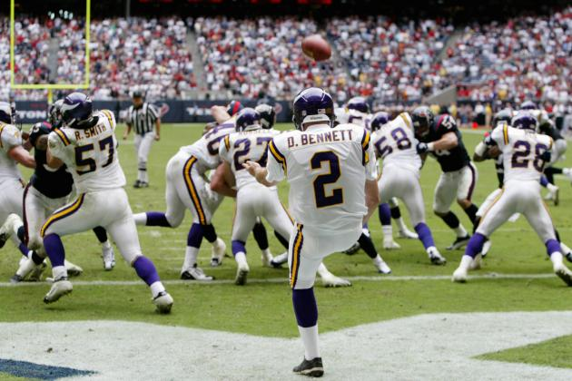 Power Ranking the 5 Greatest Punters in Minnesota Vikings History
