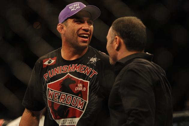 Nogueira vs. Werdum: Odds and Predictions for UFC on Fuel 10