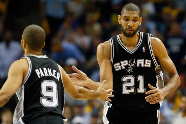 Grading Every San Antonio Spurs' Western Conference Finals Performance