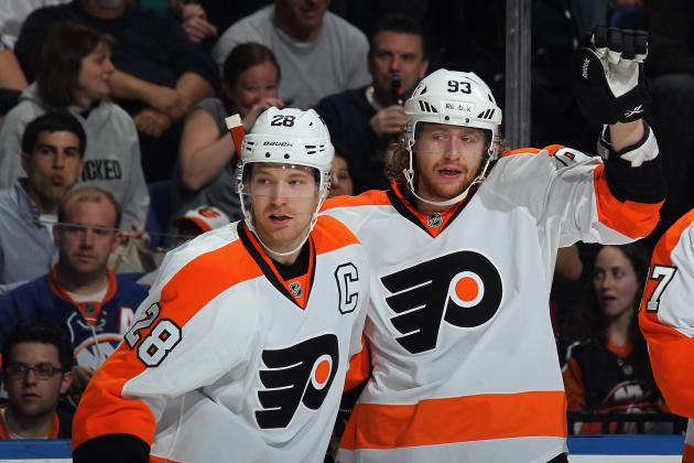 Projecting 2013-14 Stat Lines for Each of Philadelphia Flyers' Top Stars