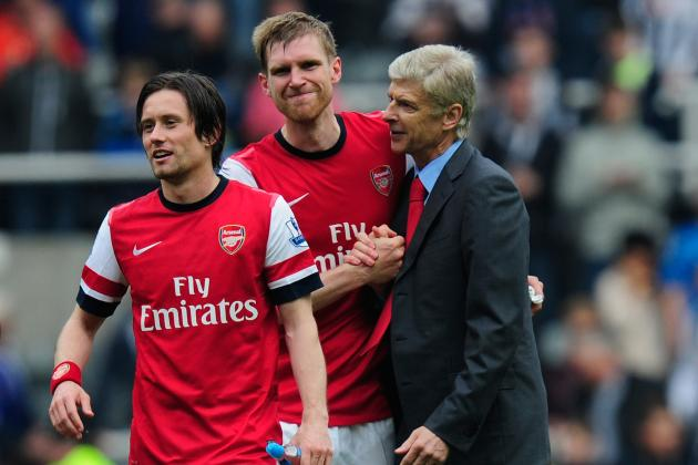 Arsenal: Projecting Gunners' Starting XI for the 2013-14 Season