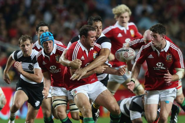 British and Irish Lions Tour 2013: Lions vs. Western Force