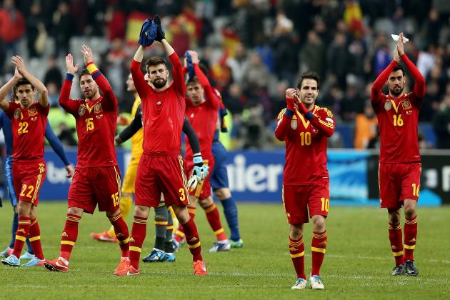 Spain Confederations Cup 2013 Roster: Latest Analysis and Predictions