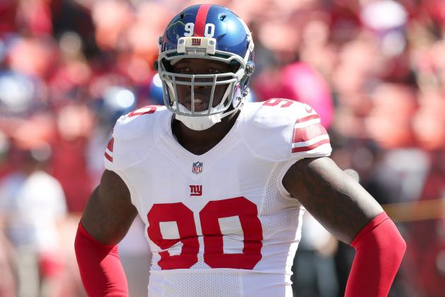 Which New York Giants Are Affected Most by Jason Pierre-Paul's Absence?