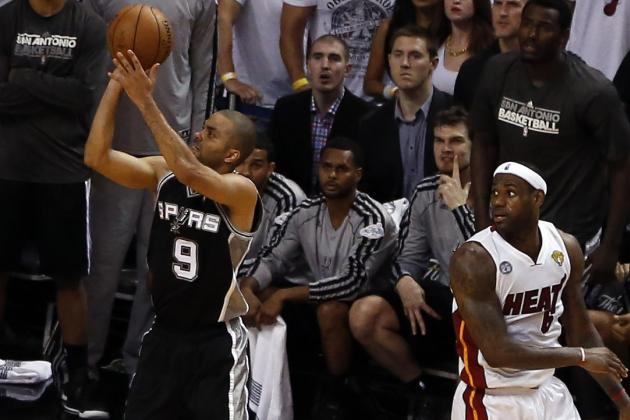 San Antonio Spurs vs. Miami Heat: Game 1 Postgame Grades and Analysis