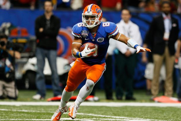 Florida Football: 4 Reasons Why Trey Burton Should Get More Touches
