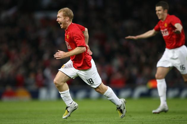 Paul Scholes' 7 Greatest Moments at Manchester United
