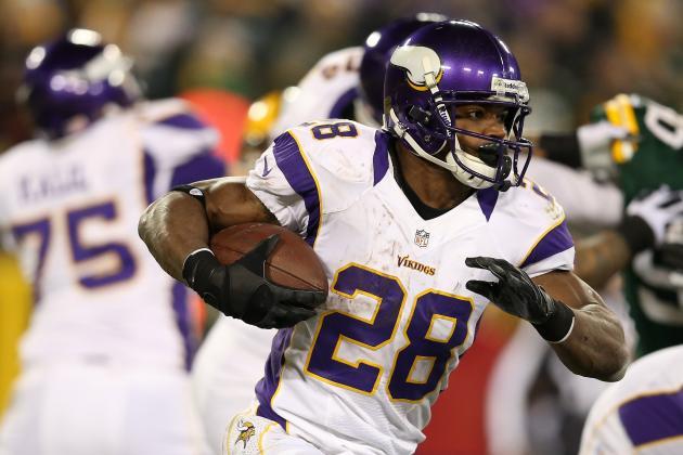 Odds for NFL's Top 10 Running Backs to Break the 2,000 Yard Mark in 2013