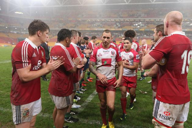 British and Irish Lions Tour 2013: Lions vs. Combined NSW-Queensland Country