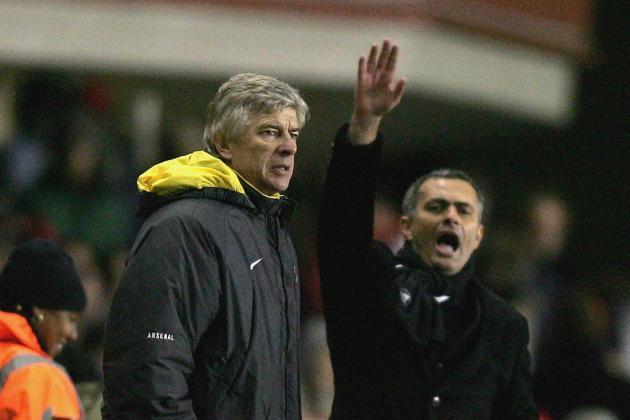Arsene Wenger vs. Jose Mourinho: Charting the Rivalry so Far