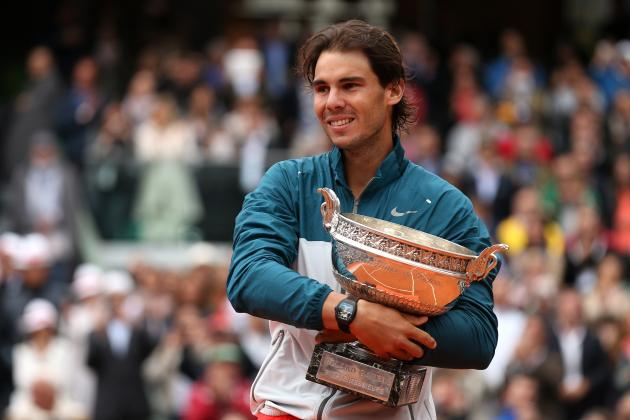 French Open 2013: Power Ranking Rafael Nadal's 8 Titles at Roland Garros
