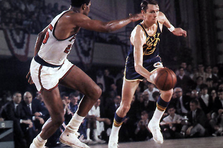 NBA Finals: Rick Barry and I Talk Sneakers, Finals Predictions and HORSE