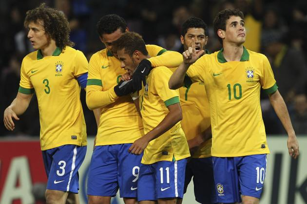 Rating the Brazil Players Against France