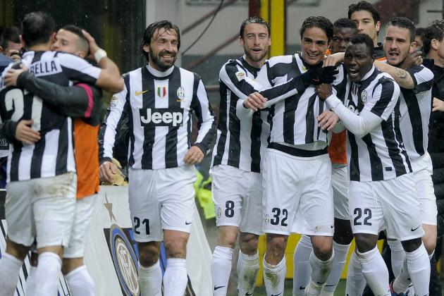 Juventus: 20 Greatest Bianconeri Goals of 2012-13