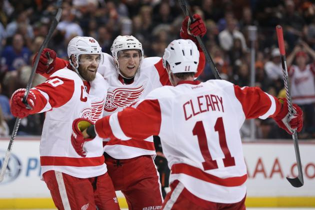 Detroit Red Wings: 10 Best Moments from NHL Playoff Run