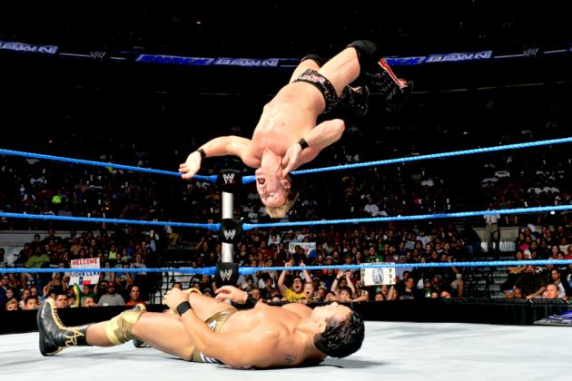 Chris Jericho and the 7 WWE Superstars with the Best Moonsaults Today