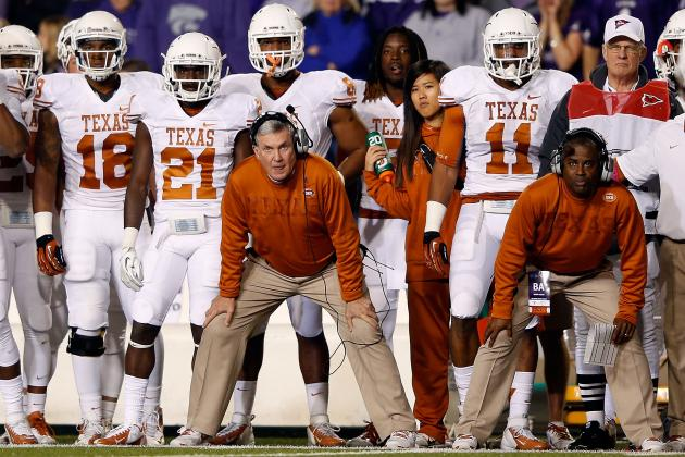 Texas Football: The 4 Hottest Seats on the Longhorns' Coaching Staff