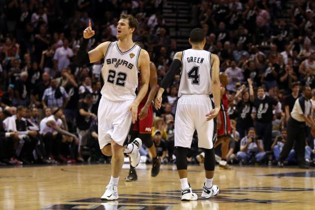 Grading Each San Antonio Spurs' Player's NBA Finals Performance So Far