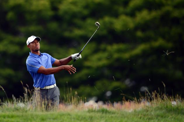 US Open 2013 Results: Grading Tiger Woods' Round 1 Performance at Merion