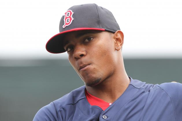 Stock Up, Stock Down for Red Sox's Top 10 Prospects for Week 10