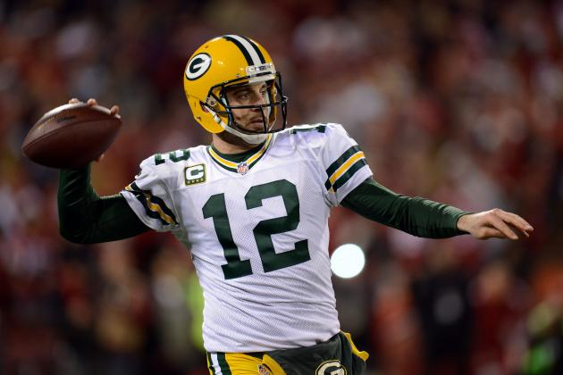 Aaron Rodgers vs. the Record Book: How Close Will Rodgers Get to Major Records?
