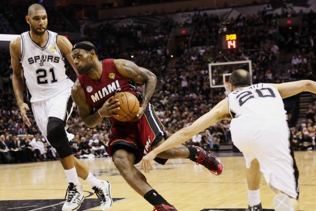 What We've Learned About Heat and Spurs Superstars in NBA Finals