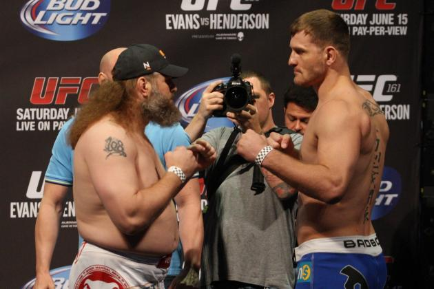 UFC 161 Results: Round-by-Round Recap and Analysis for Nelson vs. Miocic