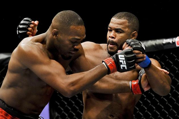 Jon Jones vs. Rashad Evans Head-to-Toe Breakdown | Bleacher Report