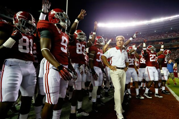 Alabama Football: Power Ranking Tide's 2013 Schedule from Easiest to Toughest