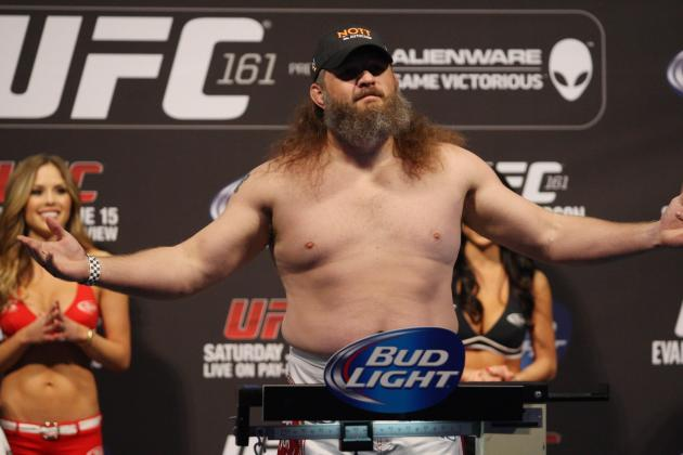 UFC 161 Results: Reasons It Would Be a Mistake to Let Roy Nelson Walk