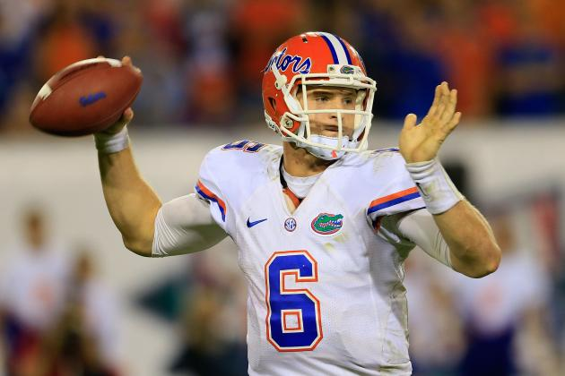 Florida Football: Ranking the Gators' 2013 Opponents by Passing Attack