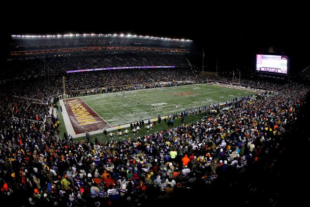 Power Ranking NFL Stadiums Entering 2013