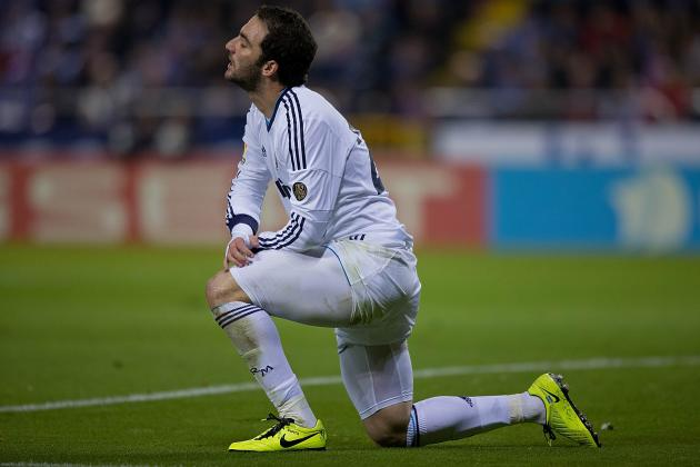 Gonzalo Higuain Transfer Rumours: Latest News on the Real Madrid Star