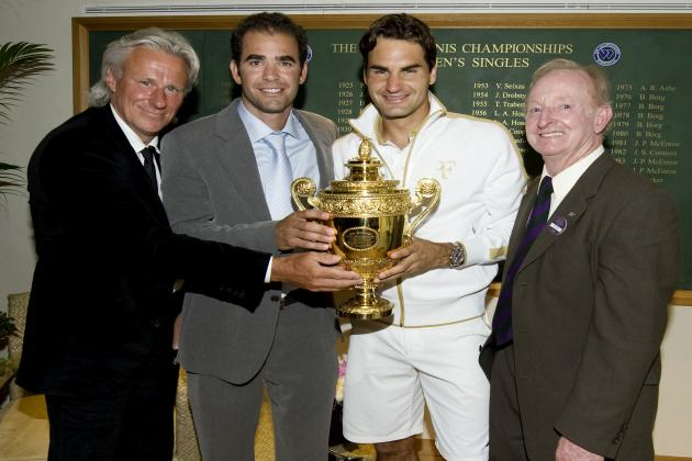 The 16 Greatest Wimbledon Champions in One Draw: Who's the Best of All Time?
