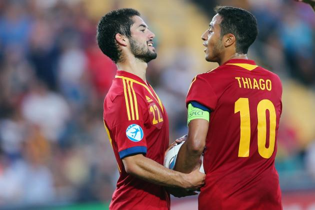 FIFA 13: Thiago Alcantara, Isco and the Best Euro U-21 Squads on Ultimate Team